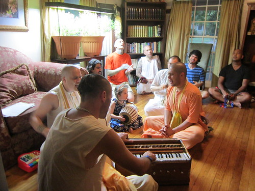 Disappearance day celebration of His Holiness Bhakti Tirtha Swami