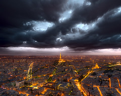 Clouds over Paris DSC0259 photo by MagnusL3D