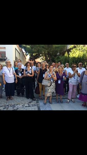 <b>Çanakkale Sergisi</b> <div>Seramik Müzesi bahçesinde açılıştayız</div> <p>