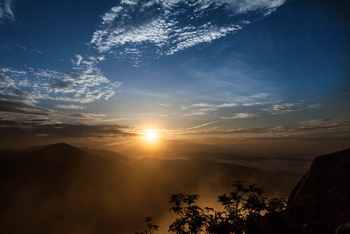 Sunrise from Sharp Top [EXPLORED] photo by curtisWarwick