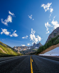 The Liberty Bell Mountain, North Cascades Highway photo by - Aman Agarwal -