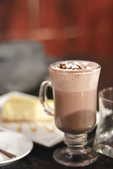 Hot chocolate ♥_♥ photo by Nina Ibrahim