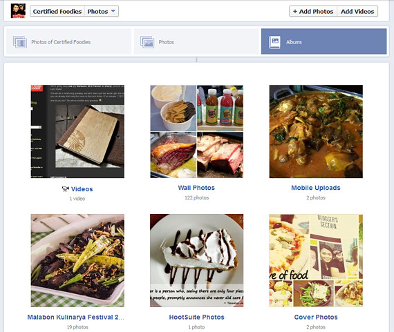 Facebook Photo thumbnails are now bigger