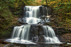 Ricketts Glen State Park ~ Tuscarora Falls photo by Steve Maciejewski