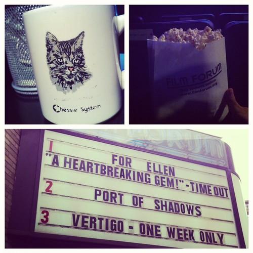Seeing Vertigo at the Film Forum!