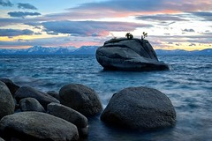 Blue Evening,  Lake Tahoe photo by Rob Macklin