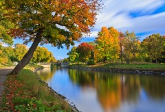 60 Seconds of Autumn... Djurgården Channel, Stockholm photo by Maria_Globetrotter (not globetrotting)