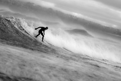 The surfer photo by Simon Halstead Photography