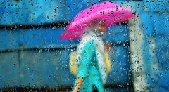 Girl with Pink Umbrella photo by Sakia Rafique