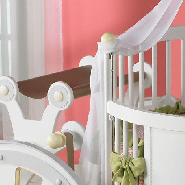 童话城堡里的马车,变身生活中的婴儿床!