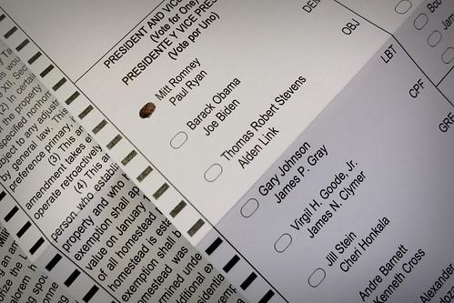 My Vote 2012