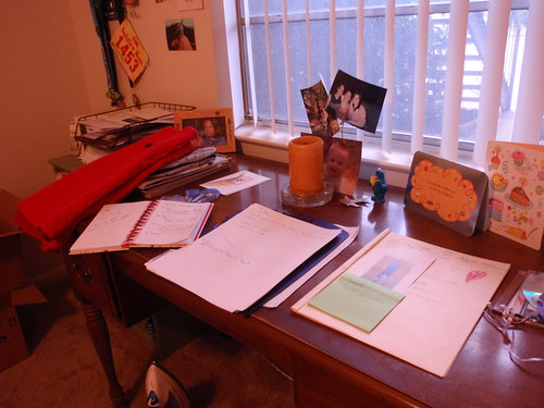 A Full Desk