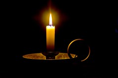 One Candle Power photo by Light Collector