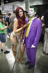 Red Sonja and The Joker photo by V Threepio