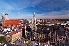 Marienplatz,heart of the city of Munich photo by puthoOr photOgraphy