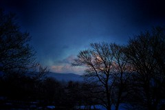 The Dying Light: Snowstorm Closing In photo by Kenneth J. Harvey (over 500,000 views)