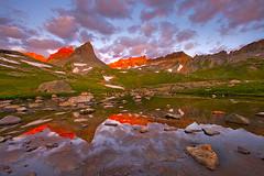 Sunrise Upper Ice Lake Basin - Silverton, Colorado photo by Will Shieh