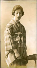Kimono - Vintage photo by Vintage Japan-esque