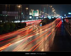 King Fahd Road During Rain photo by Bakar_88