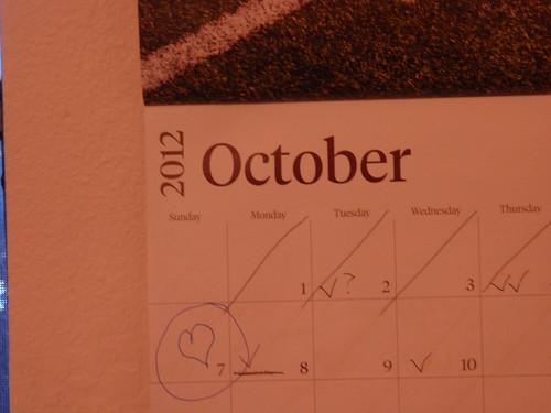 October 7 2012