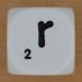 Spelling Dice Letter r