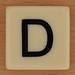 BANANAGRAMS Letter D