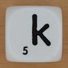 Spelling Dice Letter k