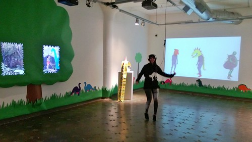 SHOW IS UP!!! Now solo dinosaur dance party!