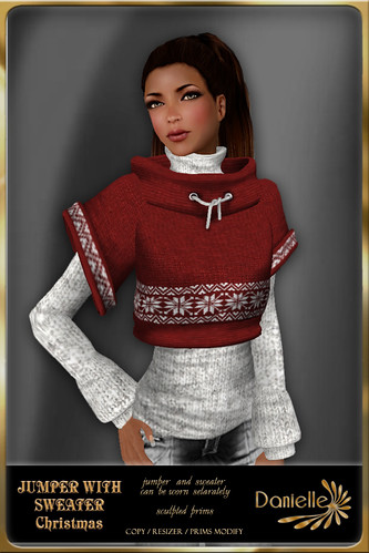 DANIELLE Jumper WIth Sweater Christmas