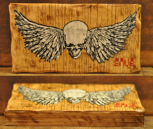 SNUB-Skull-&-Wings-on-wood-001