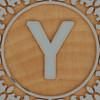 John Crane Classic Block Letter Y