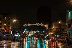 125th Street, Harlem, New York City at Christmas photo by RobNYCity