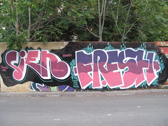Sien & Fresh Valencia graffiti photo by duncan