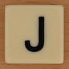 BANANAGRAMS Letter J