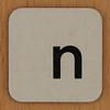 Word Making & Anagrams letter n
