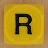WORDS dice letter R