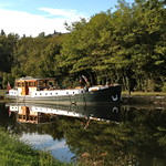barge cruise randle on the Nivernais canal