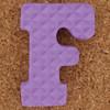 Foam Letter F
