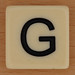 BANANAGRAMS Letter G