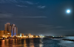 Limassol at night ( view from the pier ) photo by Phototamer