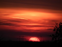 red sky at night.......explore 12-1-2012 photo by naturegurl01...slowwwly catching up