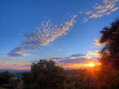 Pasadena sunset photo by RobertCross1 (off and on)