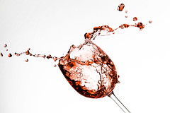 Wine glass splash #3 photo by jeremypix