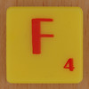 Scrabble Simpsons Letter F