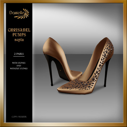 DANIELLE Christabel Pumps Sepia