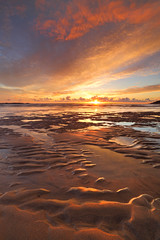 Bantham Sunset photo by @Gking_photo