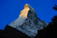 Sunrise at Zermatt, Matterhorn photo by perahia