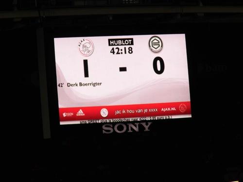 8257568681 42abbc8f44 Ajax   FC Groningen 2 0, 8 december 2012
