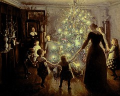 "Viggo Johansen (Danish, 1851–1935), ""Silent Night"", 1891 photo by sofi01"