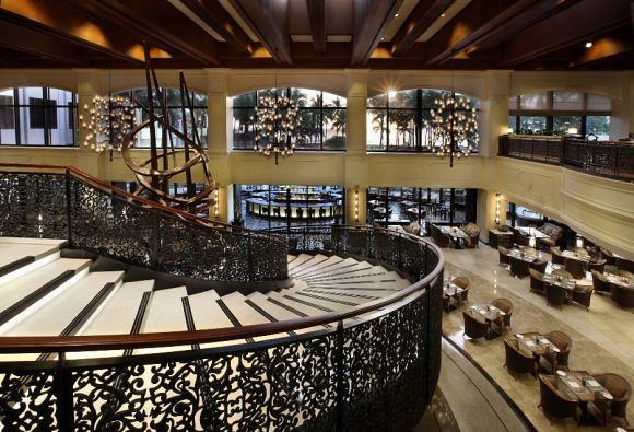 Spiral in Sofitel Manila